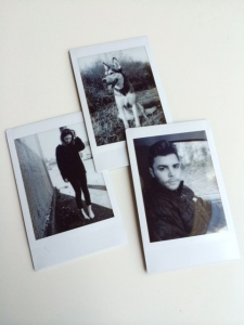 After printing these black and white polaroids a couple weeks ago, I knew I wanted to have more photos around the apartment. Time to get printing!