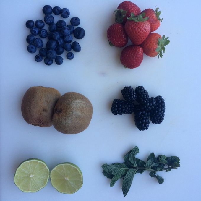 fruit salad ingredients